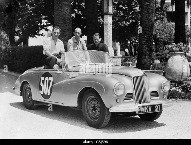 Vintage Sports Car Rallying Europe