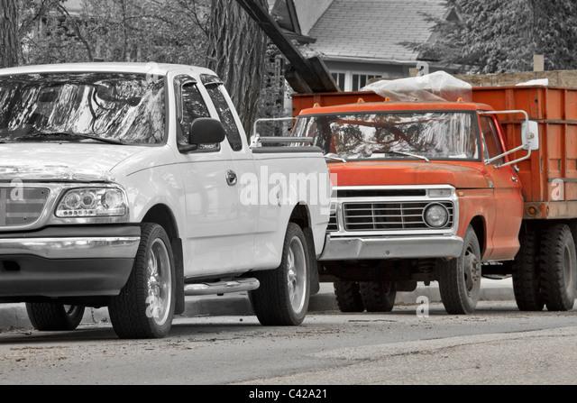 pickup trucks stock photos pickup trucks stock images alamy. Black Bedroom Furniture Sets. Home Design Ideas