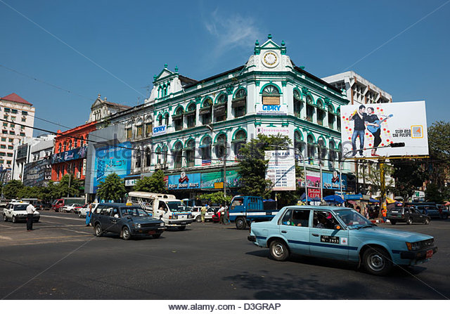 Cental stock photos cental stock images alamy for Modern house yangon