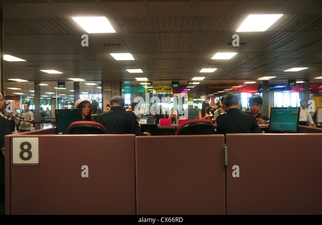 Immigration Counter Stock Photos Amp Immigration Counter