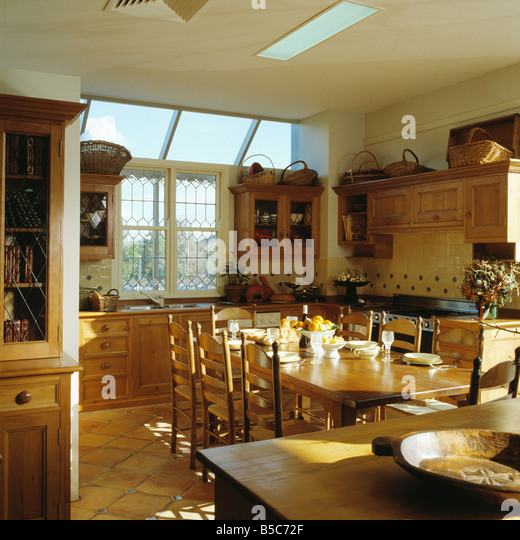Interiors kitchens extension stock photos interiors for Traditional kitchen extensions