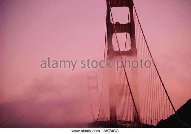 USA North California San Francisco the Golden Gate Bridge - Stock Image