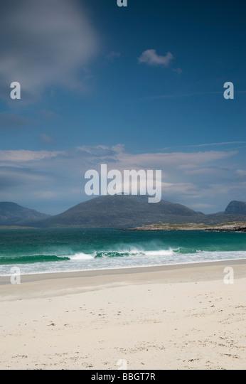South Harris, Western coastline beaches, Outer Hebrides, Scotland - Stock-Bilder