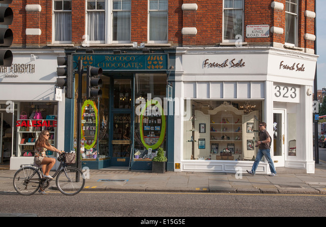 Shoe Shops South Audley Street