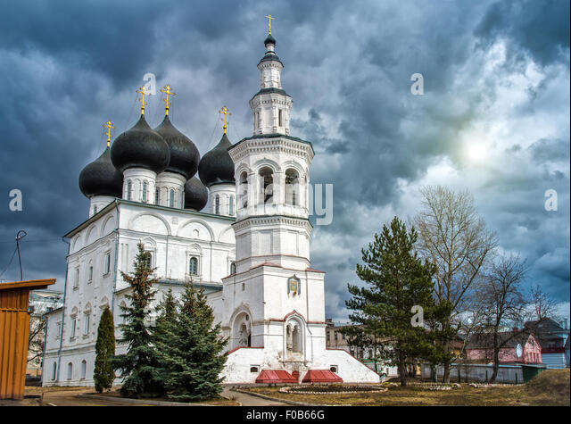 Church of St. Nicholas in the city of Vologda. Russia - Stock Image