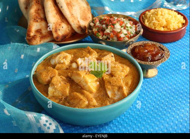 BENGALI FISH CURRY INDIAN - Stock Image