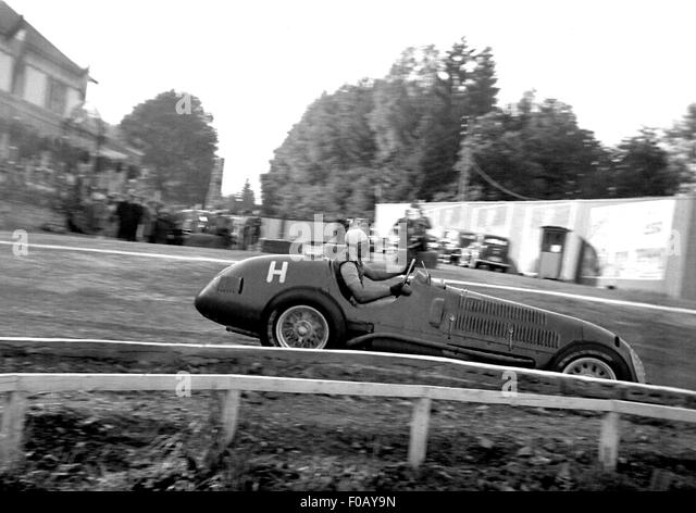 Belgian GP at Spa 1940s - Stock Image