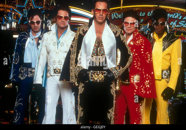 David Arquette, Kurt Russel, Kevin Costner, Christian Slater, Bokeem Woodbine *** Local Caption *** 2001, 3000 Miles - Stock Image