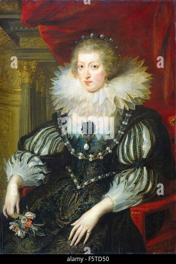 Peter Paul Rubens - Anna van Oostenrijk - Stock Image