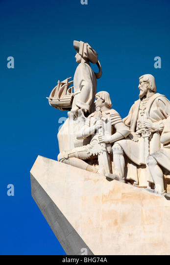 Monument to the discoveries - Stock-Bilder