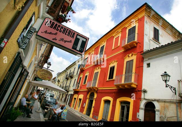 Catignano, Abruzzo, Italy - Stock-Bilder