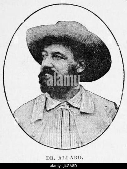 Stanley Founding of Congo Free State 271 Dr Allard - Stock-Bilder