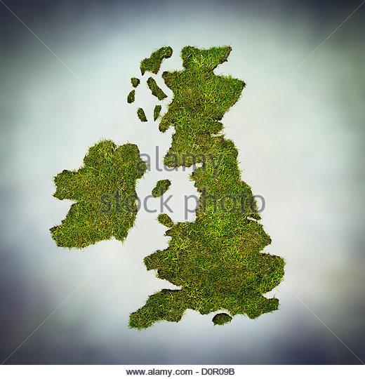 green UK - Stock Image