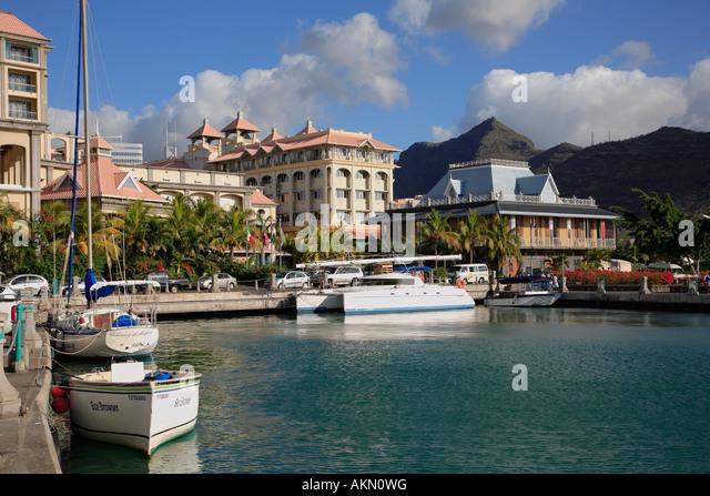 Le caudan waterfront stock photos le caudan waterfront stock images alamy - First restaurant port louis ...