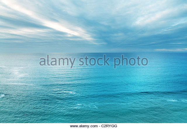 Ocean and sky - Stock Image
