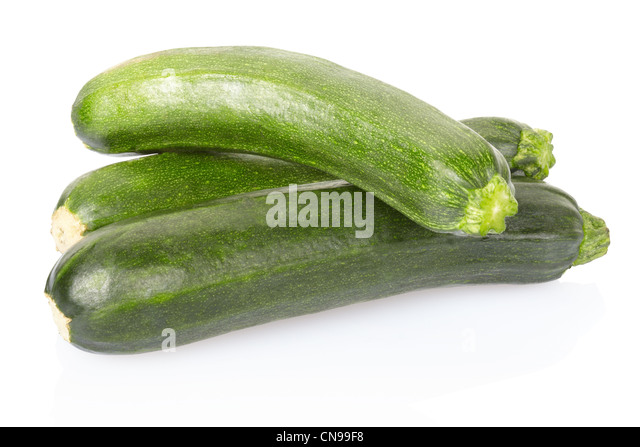 Zucchini courgette - Stock Image
