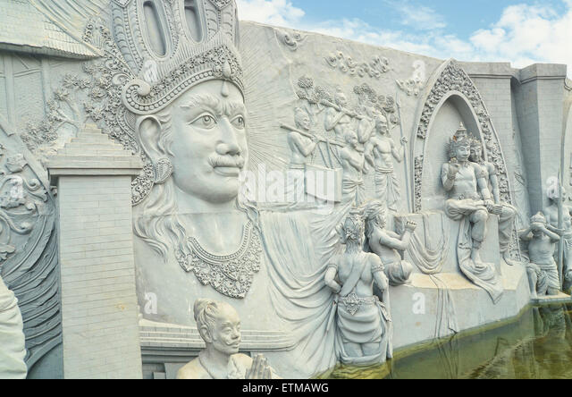 Sriwijaya stock photos sriwijaya stock images alamy for Mural indonesia