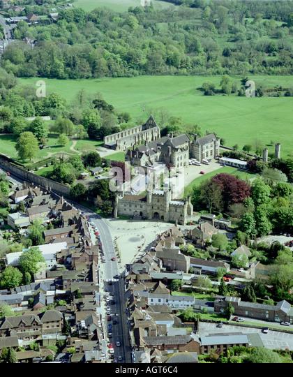 Battle Abbey Kent - Stock Image