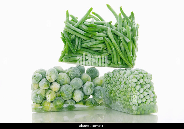 Frozen vegetable - Stock Image