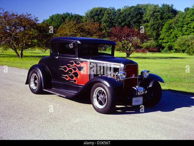 Coupe hot rod stock photos coupe hot rod stock images for 1931 ford 5 window coupe hot rod