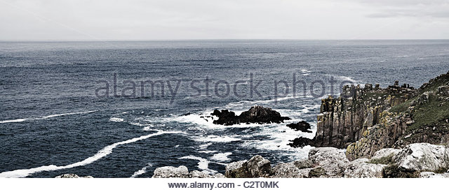 Lands end - Stock Image