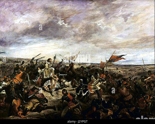 the battle of poitiers and king Battle of poitiers, (sept 19, 1356), the catastrophic defeat sustained by the  french king john ii at the end of the first phase of the hundred years' war  between.
