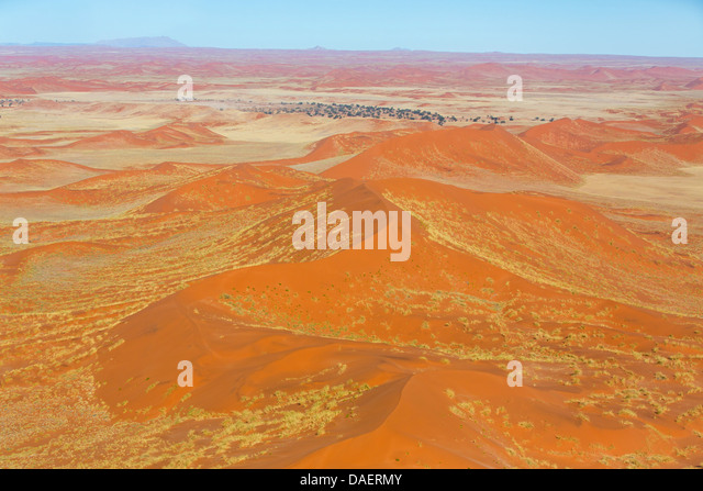 Namib desert in Namibia, Namibia, Namib Naukluft National Park, Sossusvlei, Swakomund - Stock Image