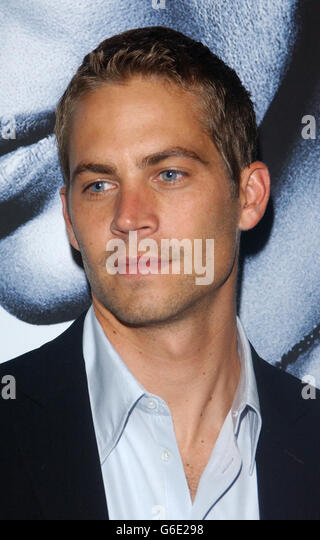 Paul Walker 2 Fast 2 Furious - Stock Image
