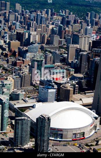 Rogers Centre in downtown Toronto, Ontario, Canada - Stock Image