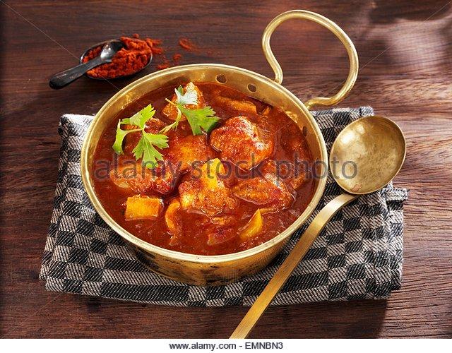 Kettle goulash - Stock Image