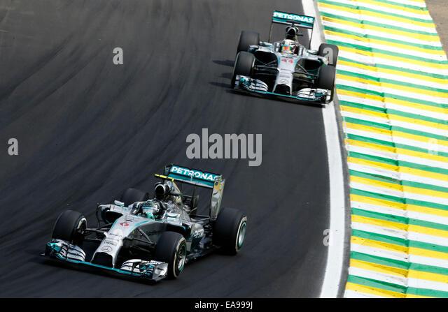Sao Paulo, Brazil. 09th Nov, 2014. Motorsports: FIA Formula One World Championship 2014, Grand Prix of Brazil, #6 - Stock-Bilder