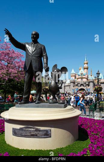 Disneyland California USA - Stock Image