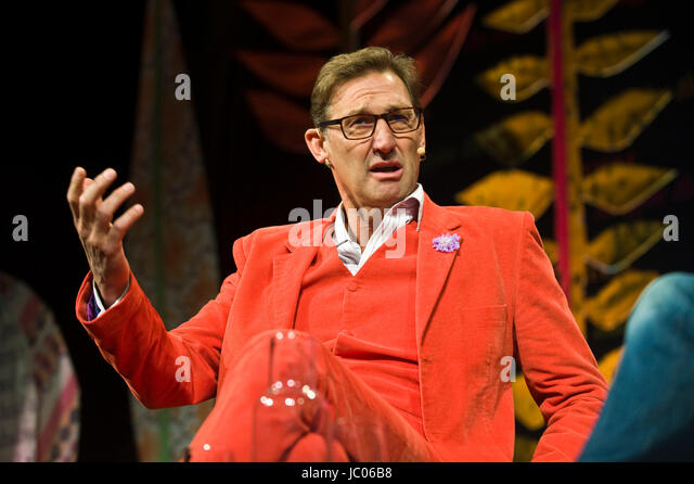 Tony Adams former Arsenal & England footballer speaking on stage at the annual Hay Festival of Literature and - Stock Image