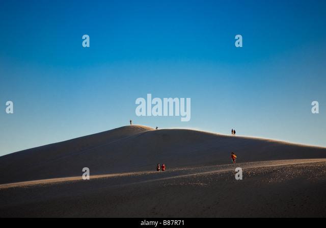 Valizas dunes in Uruguay - Stock Image