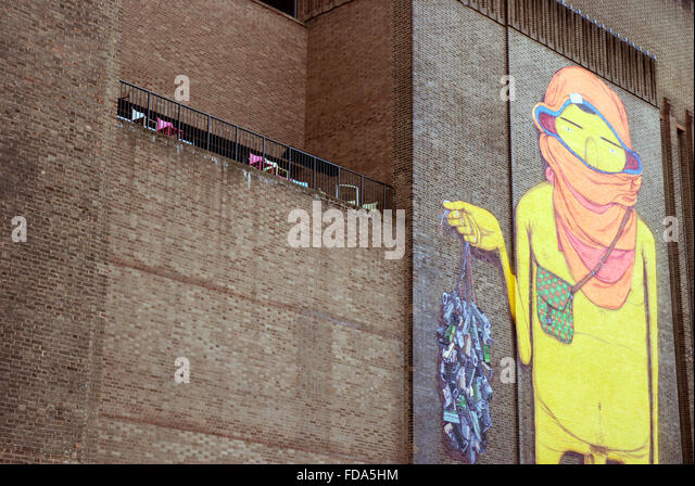Tate modern london mural stock photos tate modern london for Figure 8 mural