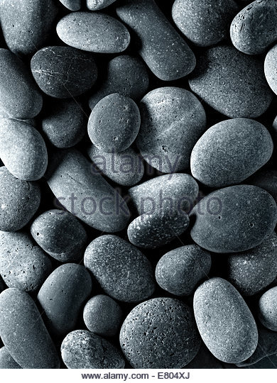 River or beach stone, perfect for backgrounds - Stock-Bilder