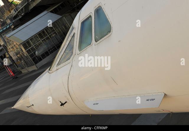 British Airways Concorde, G-BOAD - Stock Image