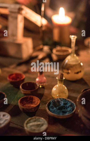 Color powders - Stock Image