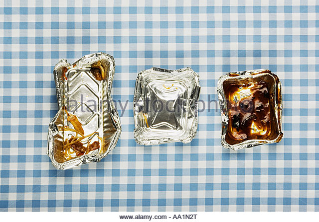 Fast food containers - Stock Image