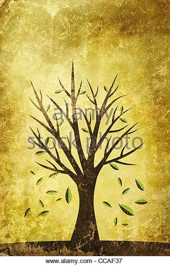 autumn illustration - Stock-Bilder