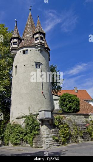 Diebsturm Lindau - Stock-Bilder