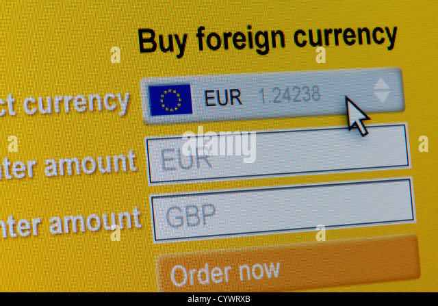 Foreign Exchange Currency Screen Stock Photos Amp Foreign