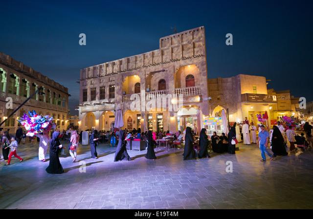 Doha. Qatar. Souq Waqif. - Stock Image