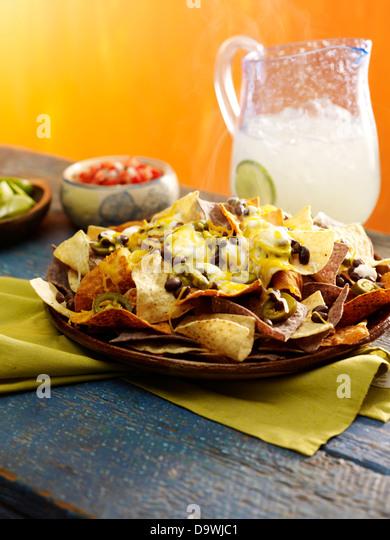 nachos - Stock Image
