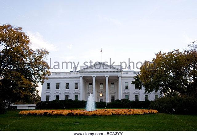 The White House in Washington, D.C. - Stock Image