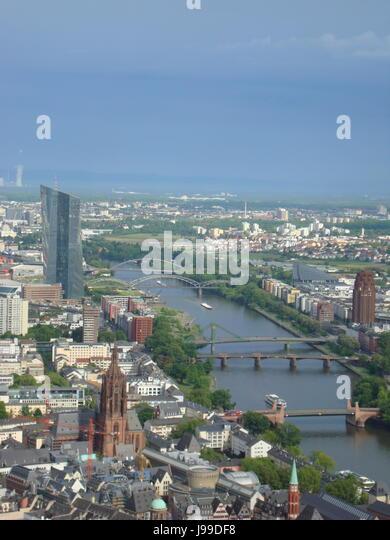 Frankfurt am Main, Hessen, Germany. Photo by Willy Matheisl - Stock Image