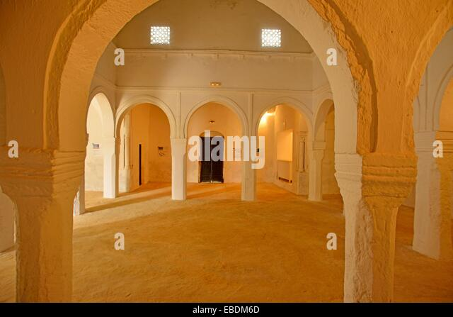 In the Museum of Patrimony and Heritage at Houmt Souk, island of Djerba, Tunisia - Stock Image