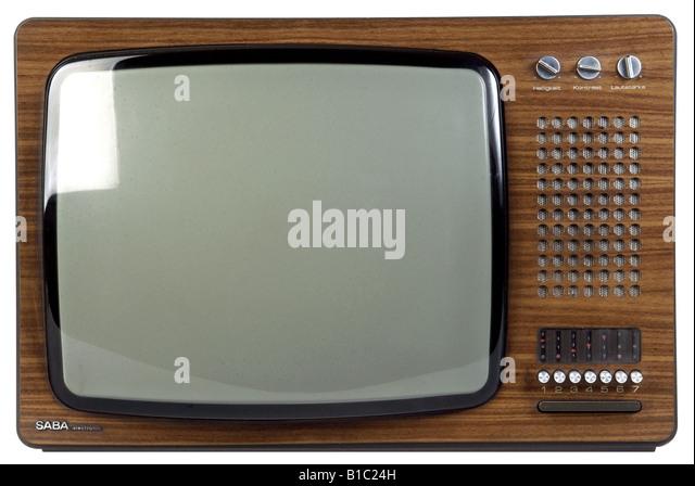 broadcast, television, TV set models, model ULTRA PSL 200 electronic, Germany, 1973, technic, technics, invention, - Stock Image