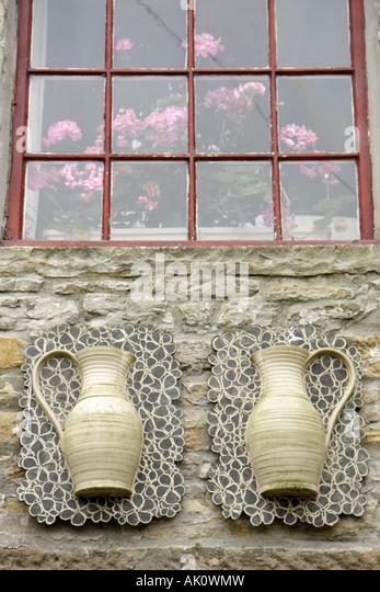 UK, England, Alston, potter shop, - Stock Image