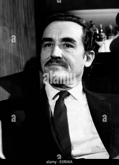 Actor and director, VITTORIO GASSMAN - Stock Image